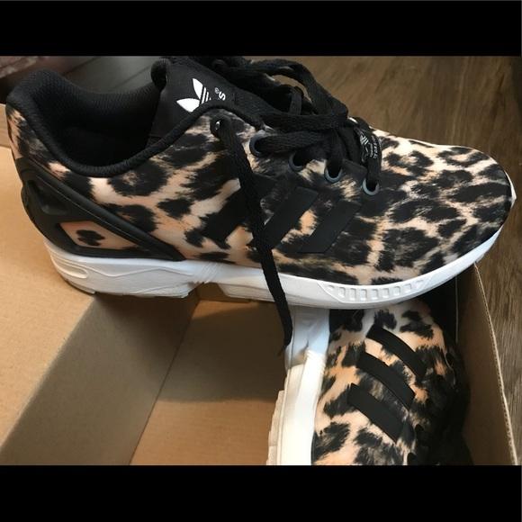 82e2197a81a30 adidas Shoes - Adidas leopard print. ZX Flux torsion